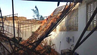 Seis trabalhadores ficaram feridos após teto de indústria desabar em Parnaíba 5