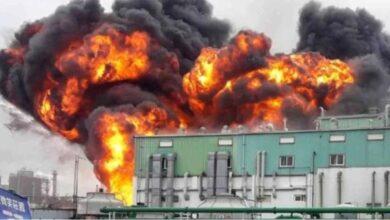 Explosão causou incêndio na segunda maior fábrica de matéria-prima de hidroxicloroquina do mundo 4