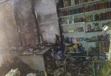 Após arrombar e furtar mercadorias, ladrões ateiam fogo em supermercado na cidade de Paes Landim 9