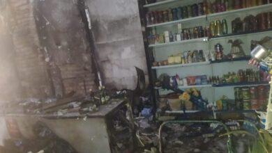 Após arrombar e furtar mercadorias, ladrões ateiam fogo em supermercado na cidade de Paes Landim 5