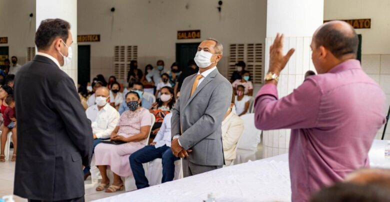 Novo prefeito de São Miguel do Fidalgo, Dr. Erimar e o vice Elves Dias são empossados 1