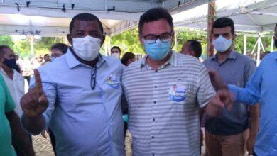 Alberto novo prefeito de Cajazeiras do Piauí participa da eleição da APPM em Teresina 5